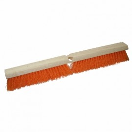 "Floor Scrubbing Nylon Brush 18"" with Handle"