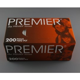 PREMIER face tissue - Pack of 200 sheets